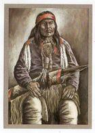 Thème  Indiens -- APACHEN-KRIEGER   --- Illustrateur Et Texte  K-D  KUBAT - Native Americans