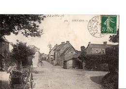 CARTE RESERVEE 569.  COUVAINS. - Le Bourg.  A Circulé En 1907. Belle CPA, Solide. En TBE. Voir Scan. - France