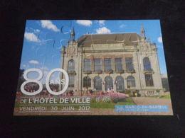 PUZZLE - MARCQ EN BAROEUL - Mairie - 24 Pièces - Autres Collections