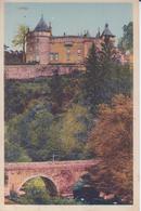 CPA - Env D' AVALLON - Vieux Pont Et Château - Avallon