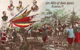 Carte Postale Ancienne - Patriotique - Les Alliés Et Leurs Braves Armées - Non Circulé - - Guerre 1914-18