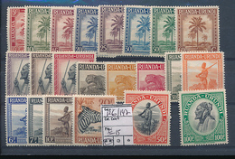 RUANDA URUNDI COB 126/147 MNH - Ruanda-Urundi