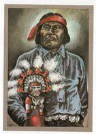 Thème  Indiens -- PUEBLO-INDIANER  --- Illustrateur Et Texte  K-D  KUBAT - Indiens De L'Amerique Du Nord