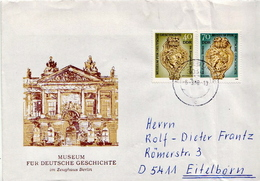 Postal History Cover: Germany / DDR Full Set On Cover - Museums