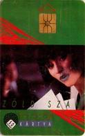 TARJETA TELEFONICA DE HUNGRIA. GREEN NUMBER. HU-P-1992-08A (098) - Hungría