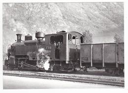 CPM TRAIN Zug VOIR DOS 38 Séchilienne Vers Vizille Train Locomotive Vapeur 030 T N°6 Ex FO En 1947 - Vizille