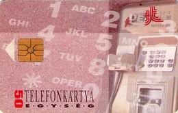 TARJETA TELEFONICA DE HUNGRIA. MEDIA. HU-P-1993-27Ab (052) - Hungría
