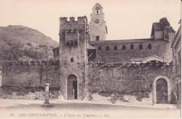 CPA -  16. LUZ SAINT SAUVEUR L'église Des Templiers - Luz Saint Sauveur