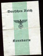 Résistance - Faux Document D' Identité Allemand De 1944- Rare Document - Documents