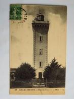 C.P.A. : 33 SOULAC SUR MER : Pointe De Grave, Le Phare, Timbre En 1911 - Soulac-sur-Mer