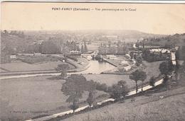 PONT FARCY  Vue Panoramique Sur Le Canal - Francia