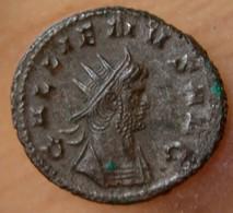 Gallien Antoninien +265 +266 Rome MARS PACIFERO - 5. L'Anarchie Militaire (235 à 284)