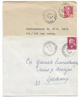ENTREPOT AGEN LOT ET GARONNE 1951 1970 A6 A9 - Marcophilie (Lettres)