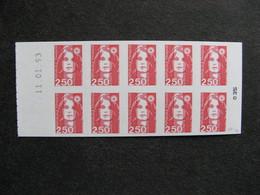 TB Carnet N° 2720-C2a : Sans Prédécoupe. Signé. Neufs XX. - Booklets