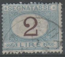 ITALIA 1870 - Segnatasse 2 L. - Segnatasse