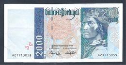 Portugal - 2000 Escudos Du 21/09/1995 - Portugal