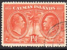 Cayman Islands GV 1932 Centenary Of Assembly 1½d Value, Used, SG 87 - Cayman Islands