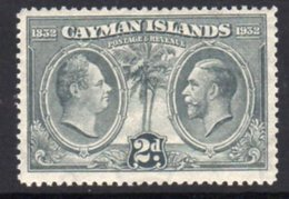 Cayman Islands GV 1932 Centenary Of Assembly 2d Value, Hinged Mint, SG 88 - Cayman Islands