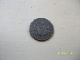 Oièce De Monnaie 1859 ALFONSE XII - Espagne
