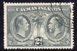 Cayman Islands GV 1932 Centenary Of Assembly 2d Value, Used, SG 88 - Cayman Islands