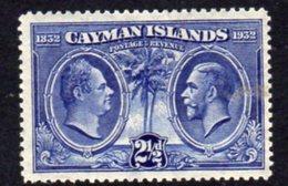 Cayman Islands GV 1932 Centenary Of Assembly 2½d Value, Hinged Mint, SG 89 - Cayman Islands
