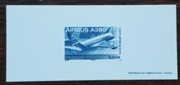 GRAVURE - YT Aérien N°69 - Airbus A380 - 2006 - Documents Of Postal Services