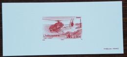 GRAVURE - YT Aérien N°70 - Hélicoptère EC 130 / Paul Cornu - 2007 - Documents Of Postal Services