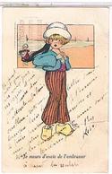 ENFANTS   FILLETTE      1U226 - Humorkaarten