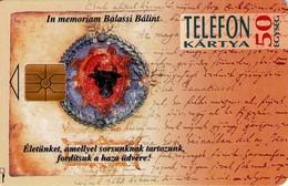 TARJETA TELEFONICA DE HUNGRIA. Balassi Bálint. HU-P-1994-01B (227) - Hungría