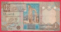 Libye 1/4 Dinar  2002 (sign 4 ) Dans L 'état (17) - Libya