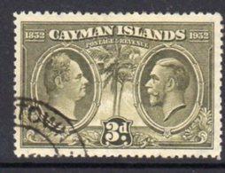 Cayman Islands GV 1932 Centenary Of Assembly 3d Value, Used, SG 90 - Cayman Islands