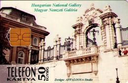 TARJETA TELEFONICA DE HUNGRIA. Szárnyasoltár. HU-P-1995-18 (171) - Hungría