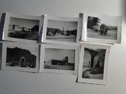 MAROC  - Lot 11 PHOTOS ORIGINALES - MAROC - Fes , Marrakech - Taroudant Etc ANNEES 46-50 - Afrika