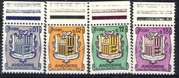+D3037. Andorra 1964. Coat Of Arms. Michel 186-89. MNH(**) - Unused Stamps