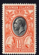 Cayman Islands GV 1935 1½d Value, Conch Shells, Hinged Mint, SG 99 - Cayman Islands