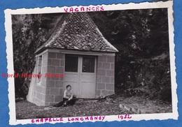 Photo Ancienne - PLEAUX Ou Environs ( Cantal ) - Chapelle Lonchaney - 1952 - Lieux