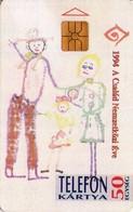 TARJETA TELEFONICA DE HUNGRIA. FAMILY. HU-P-1994-07B (215) - Hungría
