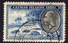 Cayman Islands GV 1935 2½d Value, Hawksbill Turtles, Used, SG 101 - Cayman Islands