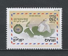 IRAK 2012 N° 1710 ** Neuf MNH Superbe Faune Oiseaux Colombe Journée Poste Lettre Messagerie Carte Birds - Iraq