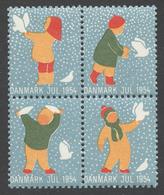 Denmark 1954 Christmas Seal - Vignetten (Erinnophilie)