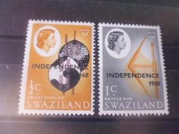 SWAZILAND YVERT  N°138.139** - Swaziland (1968-...)
