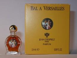 Jean DESPREZ : Bal à Versailles, Parfum, 2,4 Ml, Parfait état - Miniatures Modernes (à Partir De 1961)