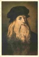 Art - Peinture - Leonard De Vinci - Autoportrait - Voir Scans Recto-Verso - Peintures & Tableaux