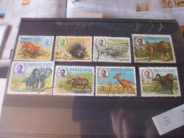 SWAZILAND YVERT  N°161.168 - Swaziland (1968-...)