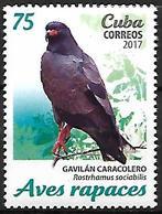 Cuba 2017 - MNH - Snail Kite (Rostrhamus Sociabilis - Arends & Roofvogels