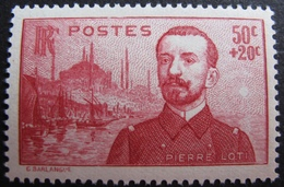 R1692/211 - 1937 - PIERRE LOTI - N°353 NEUF** - France