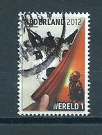 2012 Netherlands Wereld Used/gebruikt/oblitere - 1980-... (Beatrix)