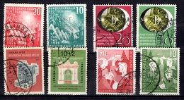 Allemagne/RFA YT N° 1/2, N° 27/28, N° 39/40 Et N° 57/58 Oblitérés. B/TB. A Saisir! - Used Stamps