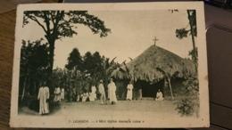 "7. Uganda (Ouganda) - ""Mon église Menace Ruine"" - Colonie De Vacances De St-Paul De Lyon - Mas De Tence (Hte-Loire) - Oeganda"