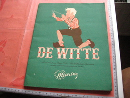 """Full Set Complete 243 Choclate Cards, Original ALBUM Meurisse , By Ernest Claes,  Stitle White Boy """"DE WITTE """" - Fifties - Andere"""
